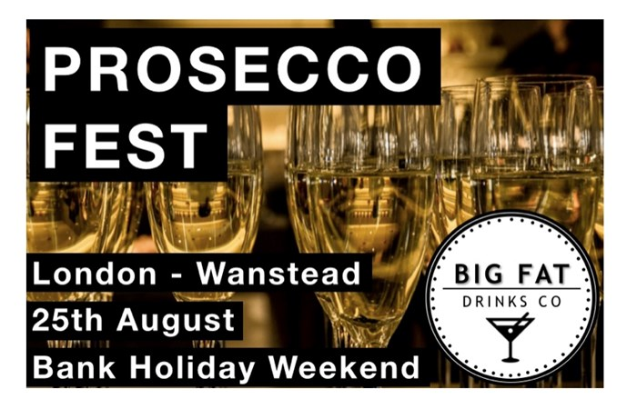 Prosecco Fest comes to East London!