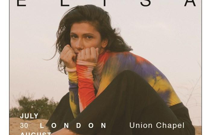 MULTI-PLATINUM INTERNATIONAL ARTIST ELISA ANNOUNCES 2019 UK TOUR