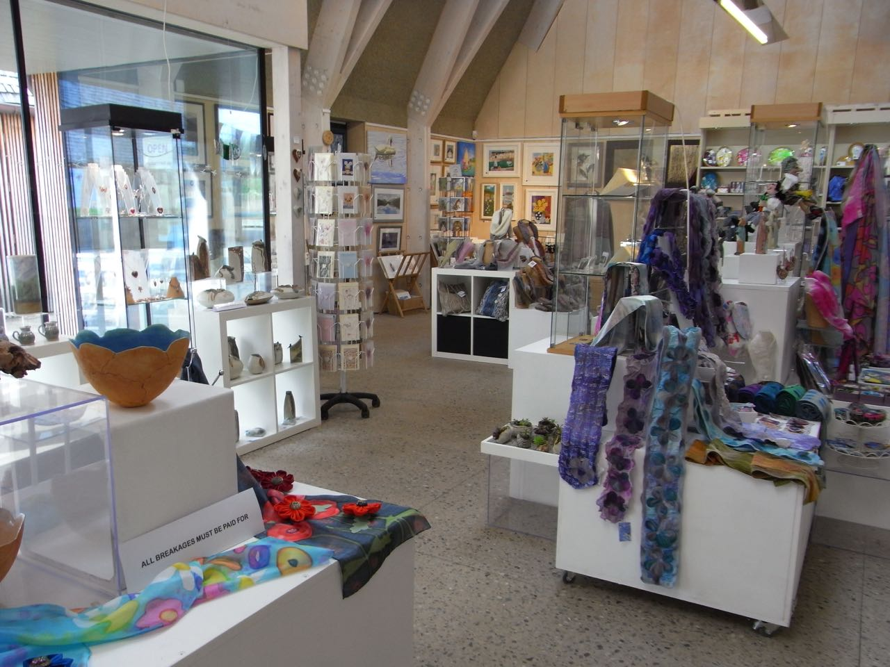 Elements in Gallery at the Wharf
