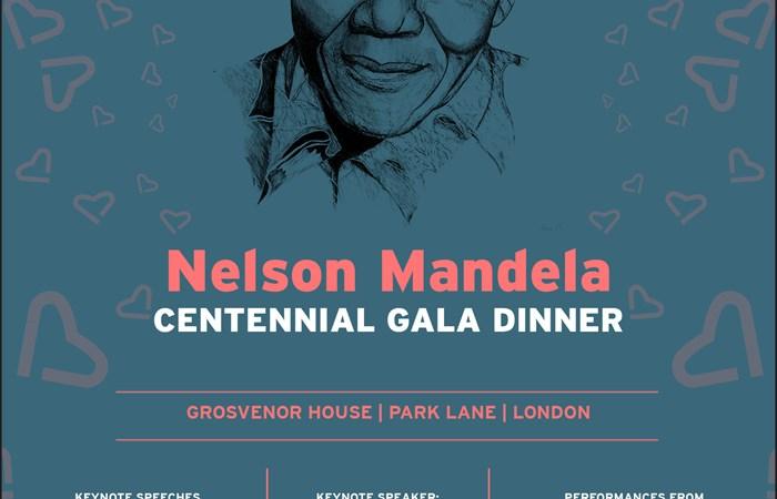 Nelson Mandela Centennial Gala dinner