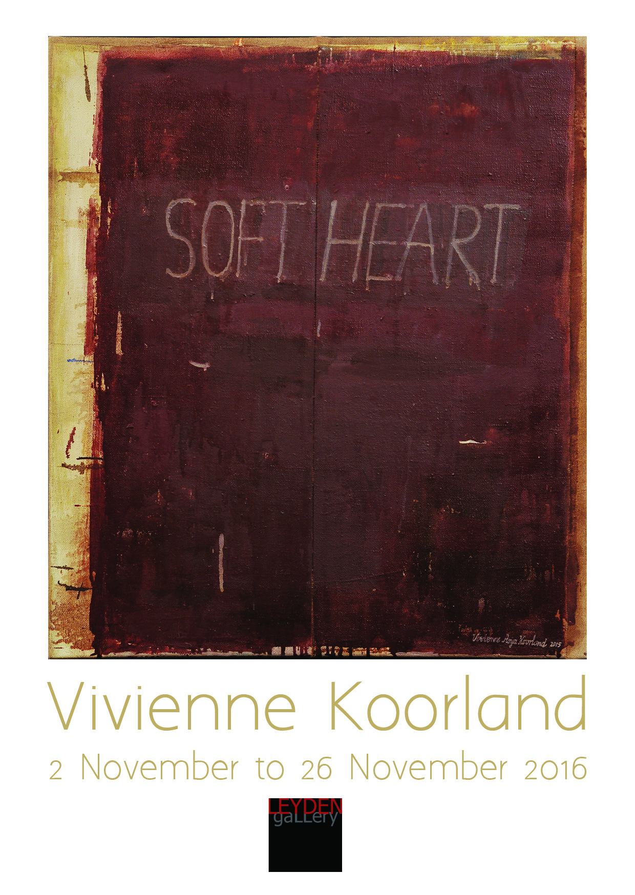 SOFT HEART Vivinenne Koorland - Conversations in Letters and Lines