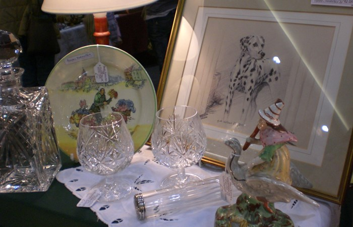 St. Ives Antiques Fair Saturday & Sunday 30th & 31st December